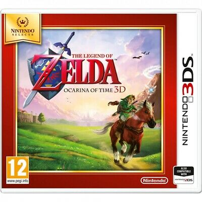 The Legend Of Zelda Ocarina Of Time 3D Game 3DS (Selects) • 25.87£