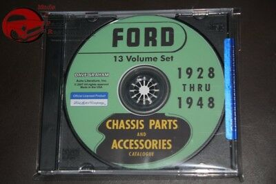 $31.50 • Buy Ford Passenger Car Chassis Parts Accessories Catalog Green Bible CD ROM PDF