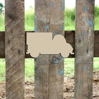 $11.14 • Buy Wood Box Truck Shape, Unfinished Shape, Wooden Box Truck Cutout, Paintable Craft
