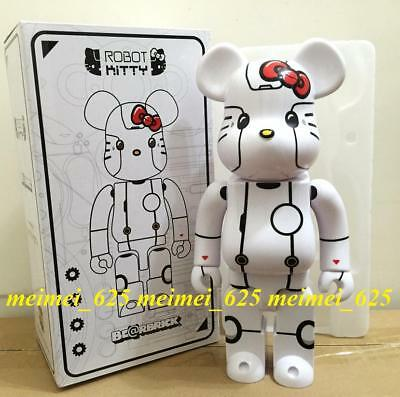 $140.99 • Buy Medicom Bearbrick 2017 Action City Exclusive Hello Kitty White 400% Be@rbrick