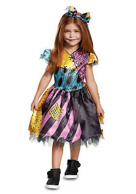 $29.95 • Buy Nightmare Before Christmas - Sally Toddler Costume W/Hair Bow