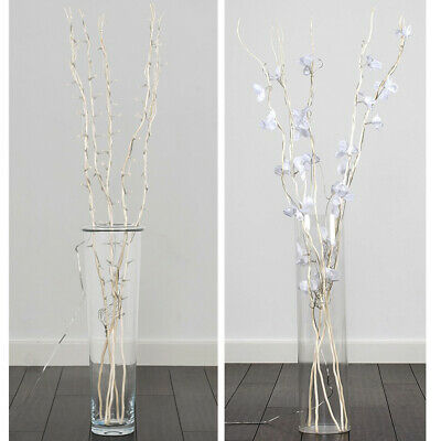 Decorative Fairy Lights Flower Design Twig Branch Home Modern Lighting Art • 5.99£