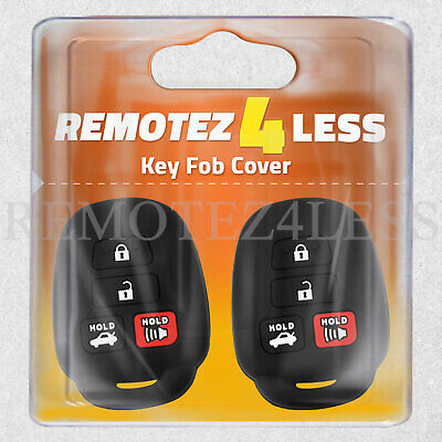 $ CDN9.64 • Buy 2 Key Fob Cover For 2012 2013 2014 2015 2016 2017 2018 Toyota Camry Remote Case