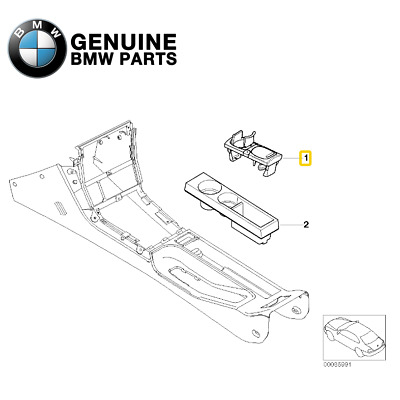 $202.92 • Buy For Console Cup Holder Genuine For BMW E36 Z3 1996-1999