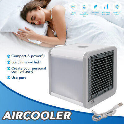 AU28.99 • Buy Portable Air Cooler Conditioner NEW Cool Cooling For Bedroom Mini Fan AU