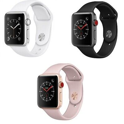 $ CDN236.53 • Buy Apple Watch Series 3 38 42mm GPS Or 4G Stainless Steel Aluminum Case Smart Watch