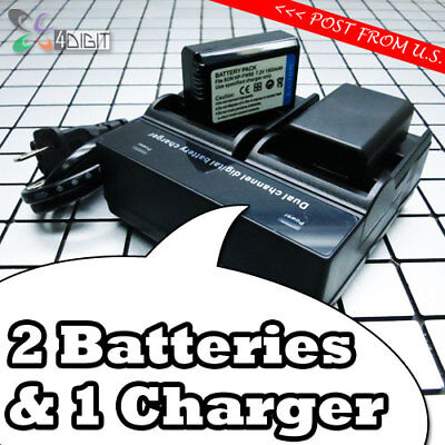 $ CDN57.34 • Buy NP-FW50 Battery + Dual Charger For SONY Alpha A6000 A6300 A6500 A7 A7R A7S II