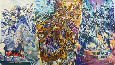 Cardfight Vanguard Try 3 Next Sneak Preview Playmat New &  Sealed • 15£