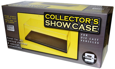 £12.99 • Buy Triple 9 Display Cases For 1:18, 1:24 And 1:43 Scale Cars