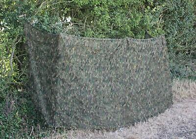 4m Camo Net Netting Stealth Ghost Woodland Pigeon Shooting Camouflage Hide • 25.99£