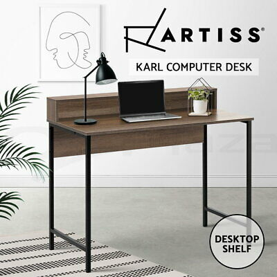 AU116.90 • Buy Artiss Computer Desk Metal Study Student Writing Office Table Cabinet Drawer