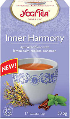 Yogi Tea Inner Harmony Blend Of Lemon Balm Rooibos And Cinnamon Various Quantity • 1.79£