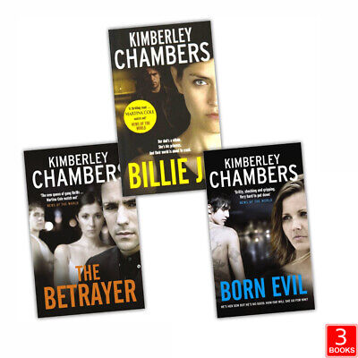 £11.99 • Buy Kimberley Chambers 3 Books Collection Set Billie, Born Evil, The Betrayer NEW