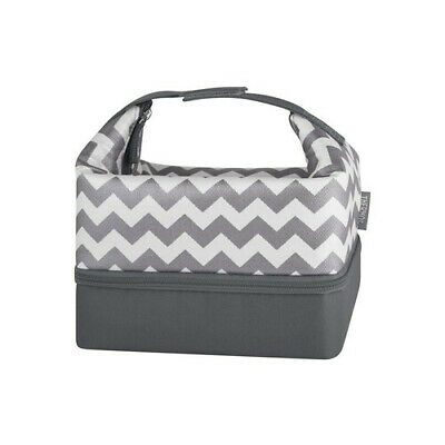 AU36.95 • Buy CHEVRON Thermos Raya Pack-In Food Container Lunch Kit With Lunch Case