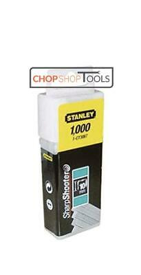 £5.89 • Buy Stanley Flat Narrow Crown Staples 12mm For Cable Tacker Pack 1000 1-CT308T