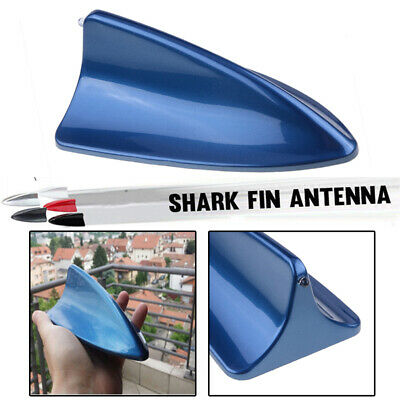£6.99 • Buy Blue SUV Car Roof Dummy Signal Shark Fin Style Aerial Antenna Cover Universal UK