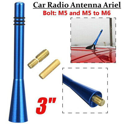 Blue Bee Sting Car Stereo Aerial Ariel Arial Flexible Extend Roof Mounting UK • 6.99£