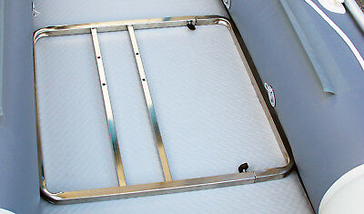 $ CDN165 • Buy Inflatable Boat Fishing Seating Frame Base For Boat Seat Chair Stainless