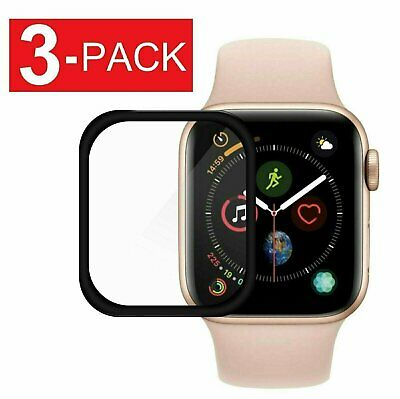 $ CDN3.70 • Buy 3-Pack Full Coverage Screen Protector For Apple Watch Series 1 2 3 4 5 6 SE