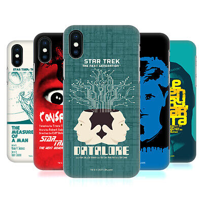AU23.95 • Buy OFFICIAL STAR TREK JUAN ORTIZ POSTERS TNG HARD BACK CASE FOR APPLE IPHONE PHONES