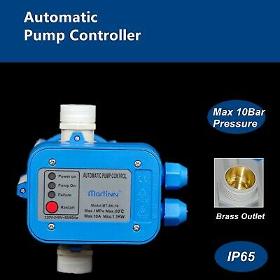 AU49.50 • Buy Automatic Water Pump Controller Pressure Switch Electric Electronic Control Sk10