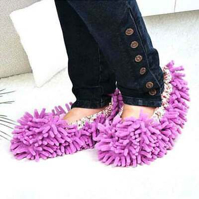 Home Mop Sweep Floor Cleaning Cloth Housework Soft Duster Multifunction Slipper • 14.52£