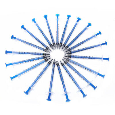 AU3.31 • Buy 20x 1ml Plastic Disposable Injector Syringe For Refilling Measuring Nutrient Set