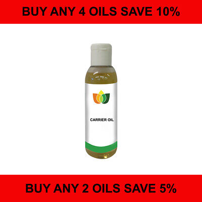 £4.29 • Buy 100ml Carrier/Base Oil. Pure Vegan Natural Choose From 60 Cold Pressed Oils