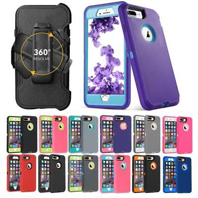 AU17.09 • Buy Hybrid Case Series Cover For IPhone 8 7 6 6S Plus(Clip Fits Otterbox Holster)