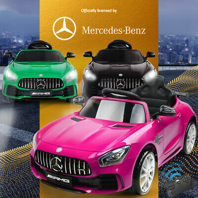 AU195.95 • Buy Kids Ride On Car Licensed Mercedes-Benz AMG GTR Electric Cars Toy Battery Remote