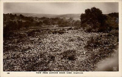 Cannock. View From Cannock Chase Camp # 183 By W.H.Smith & Son, Stafford. • 7.50£