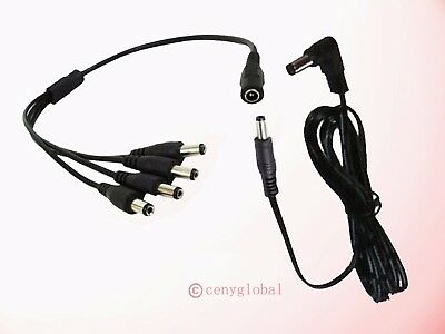 $ CDN25.03 • Buy Power Cord For Isolated Output 9V 12V 18V Guitar Effect Pedal Board Power Supply