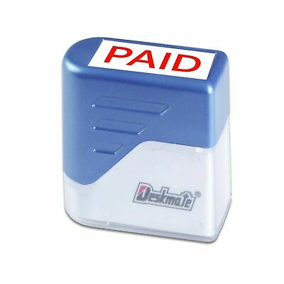 £7.99 • Buy PAID Rubber Stamp DIY Office Business Deskmate Self Inking Kit