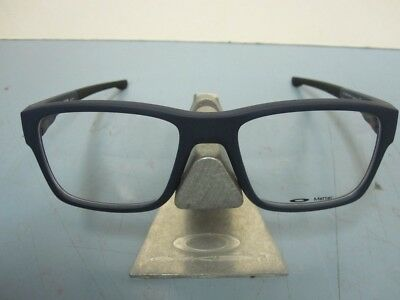 e6e2bc675187 OAKLEY Mens SPLINTER Universal Blue RX Eyeglass Frame OX8077-0754 NEW  W case •