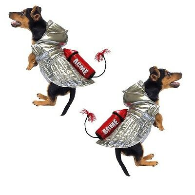 High Quality DOG Costume - ACME ROCKET SILVER SPACE DOG COSTUMES - Roadrunner • 45.18£