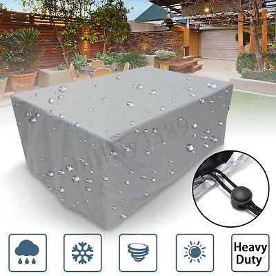 AU42.32 • Buy Waterproof Outdoor Furniture Cover Yard UV Garden Table Chair Shelter Protector