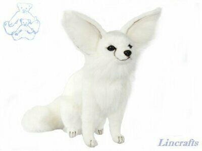 Hansa Fennec Fox Cub Sitting 7450 Soft Toy Sold By Lincrafts Established 1993 • 34.99£