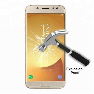 AU3.98 • Buy Tempered Glass Screen Protector Film For Samsung Galaxy J2 Pro 18 J5 J7 Pro 2017