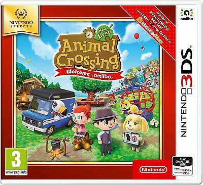 AU33.69 • Buy Animal Crossing New Leaf Welcome Amiibo 3DS Game (Selects)