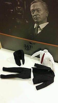 $ CDN119.14 • Buy Hot Toys 1/6 Batman Armory Alfred Pennyworth Action Figure's Suite MMS235 MMS236