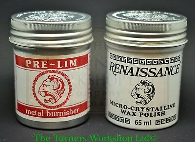 RENAISSANCE WAX & PRE-LIM SURFACE CLEANER TWIN PACK 65ml • 22.01$