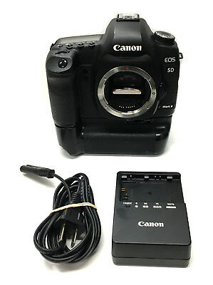 $ CDN1005.53 • Buy Canon EOS 5D Mark II 21.1MP Digital SLR Camera - Black (Body Only)