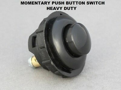 £5.95 • Buy Momentary Button Switch Heavy Duty Push ON 16A-12V Vandal Proof Fits 26mm Hole