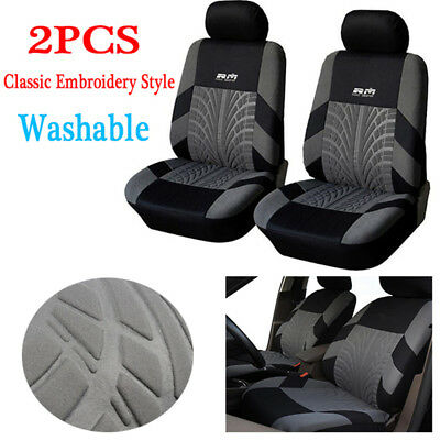 AU45.48 • Buy Universal Embroidery Car Seat Covers Set Car Interior Accessories Seat Covers