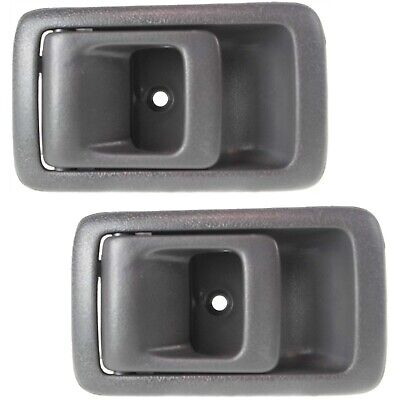 $12.82 • Buy Door Handle Set For 2001-04 Toyota Tacoma Textured Gray Front & Rear Left Inner