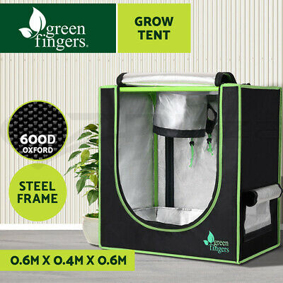 AU46.90 • Buy Greenfingers Grow Tent 60 X 40 X 60cm Hydroponics Kits Indoor Grow System