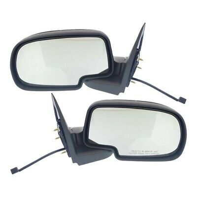 $64.50 • Buy Power Side View Mirrors Left & Right Pair Set For 99-02 Silverado Sierra Truck