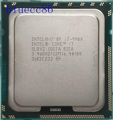 $ CDN234.58 • Buy Intel Core I7-990X Extreme Edition LGA1366 3.46GHz 6Core 12M SLBVZ CPU Processor