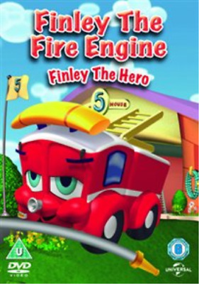 Finley The Fire Engine: Finley The Hero DVD NEW • 2.98£