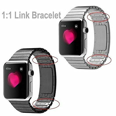 $ CDN65.41 • Buy 1:1  Link Bracelet Stainless Steel Band Strap For Apple Watch Series 4 3 2 1
